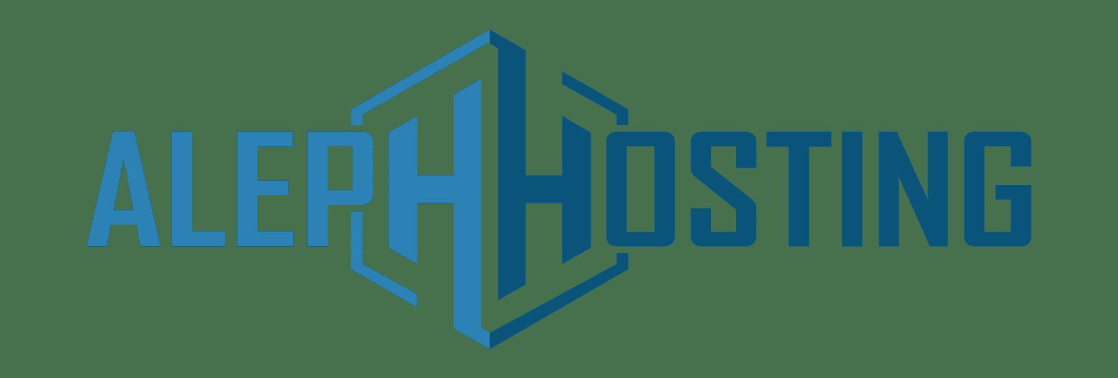 Aleph Hosting propose des solutions d'hébergement web, Serveur dédie.